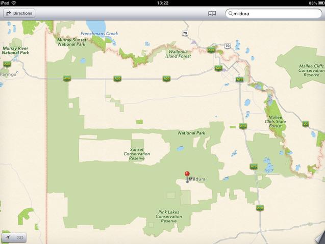 Latest Apple Maps Glitch Strands Motorists In Australian Wilderness