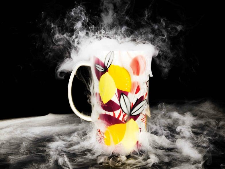 This DIY Fog Machine Fits In A Mug