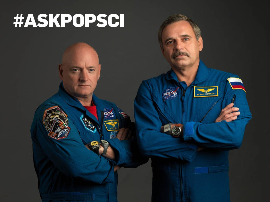 Submit Your Questions For Astronauts Spending a Year In Space