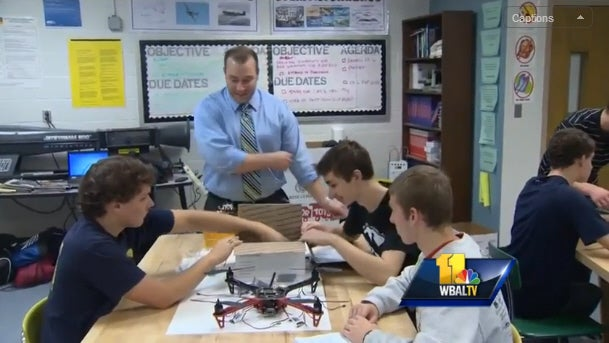 Maryland High School Now Offers Drones 101