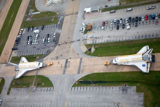 With Shuttle Program Over, NASA Prepares to Smash Retired Craft Together