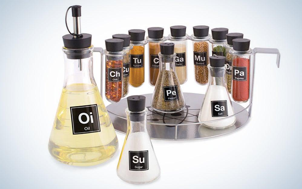 Laboratory spice rack