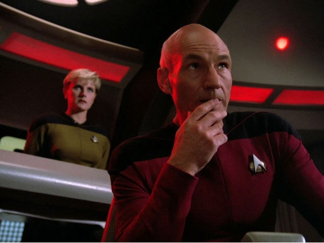 New 'Star Trek: TNG' Doc Epically Burns The Show's Creator