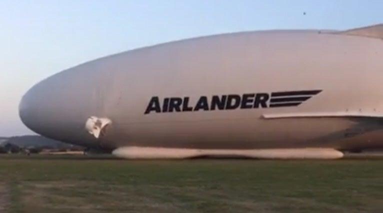 Watch Hybrid Airship's First Flight