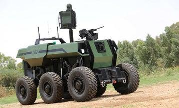 RoBattle Is Over 7 Tons Of Semi-Autonomous War Machine