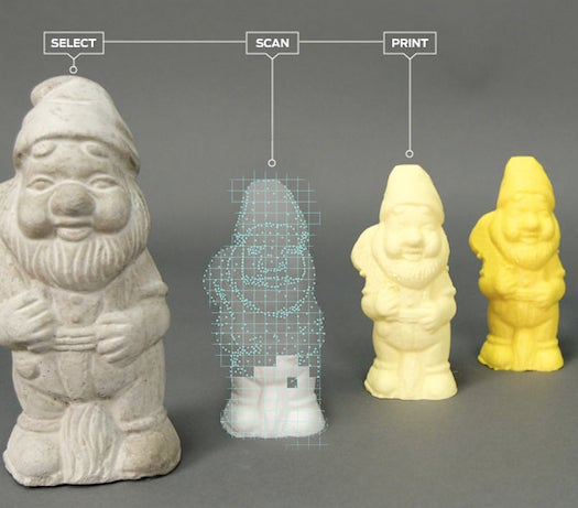 SXSW 2013: Makerbot Shows Off New 3-D Scanner That Turns Real Objects Into 3-D-Printable Files