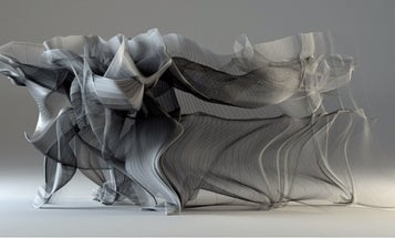 Beautiful Visualization Captures The Motions Of A Kung Fu Fighter