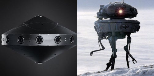 Facebook's New 360 Camera Looks Like A Probe Droid From 'Star Wars'