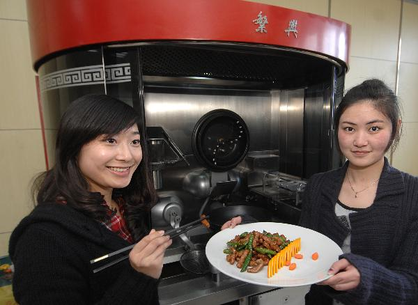 Student-Created Wok Robot Can Cook 600 Chinese Dishes