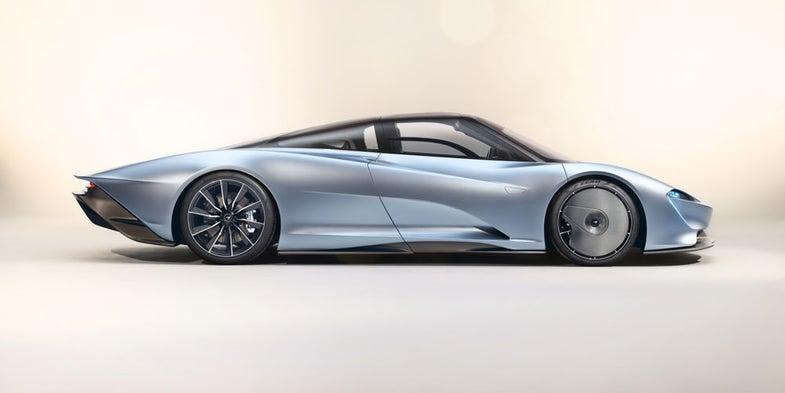 McLaren's $2.4 million Speedtail hypercar can hit 250 miles per hour