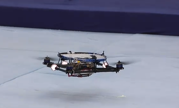 Video: Robotic Swiss Quadrocopters Hold Their Own At Tennis