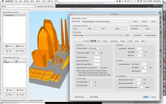 3D user interface