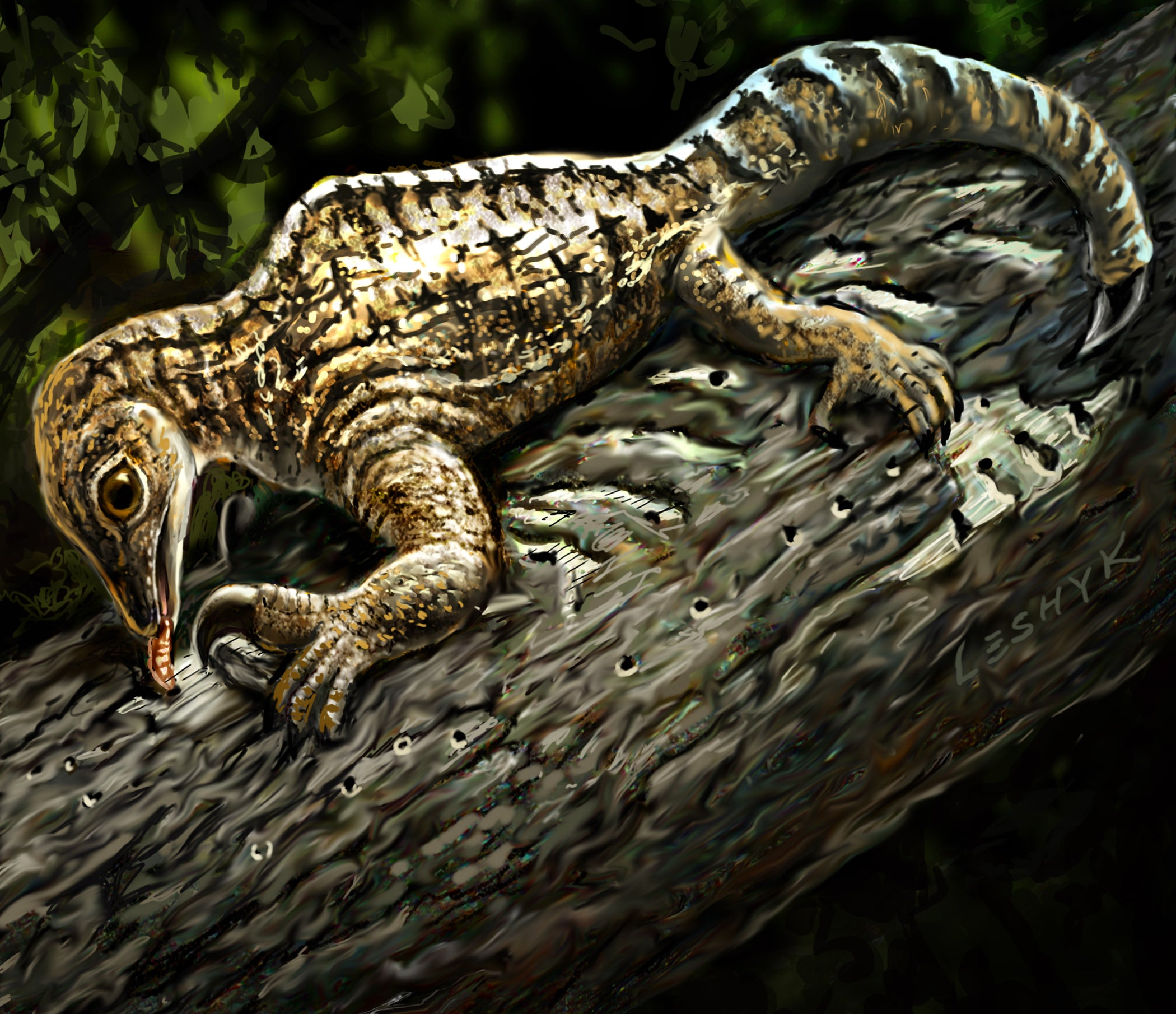 212-Million-Year-Old Reptile Had Anteater-Like Arms