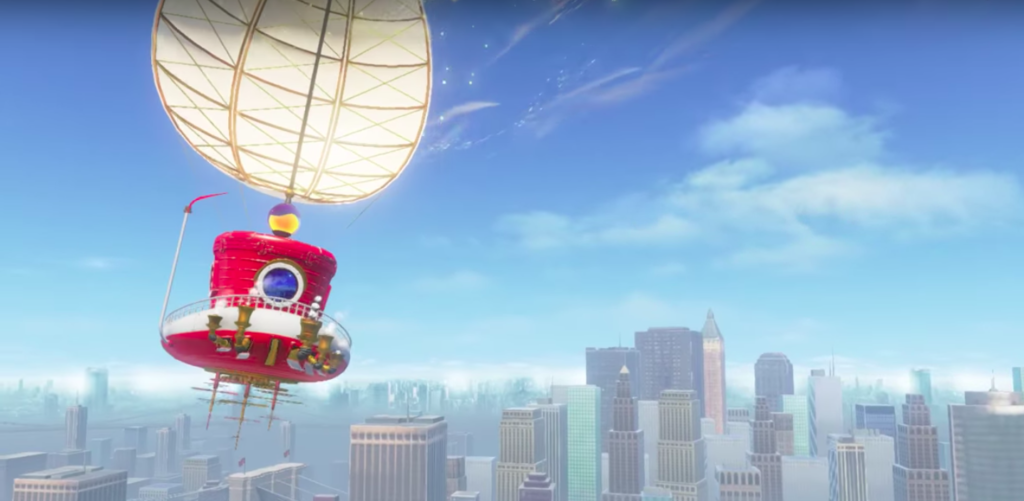 Mario Odyssey flight
