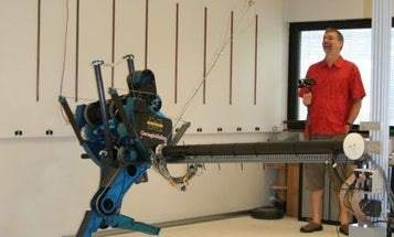 Video: Mabel the Robot Sets Speed Record For Bipedal Running