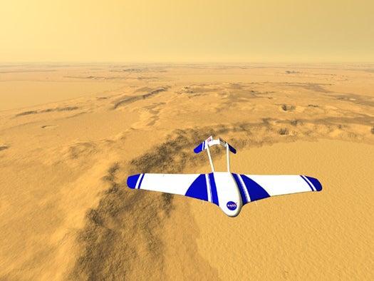 NASA Robotic Rocket Plane To Survey Martian Surface