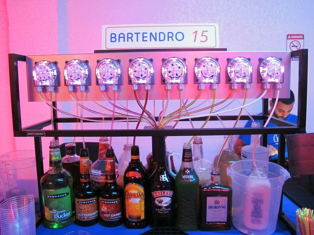 A Night With The World's Greatest Robot Bartenders