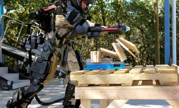 Real-Life Iron Man Exoskeleton Gets a Slimmer, More Powerful Sequel