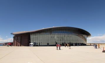 Spaceport America's Open House Was A Tribute To Empty Space