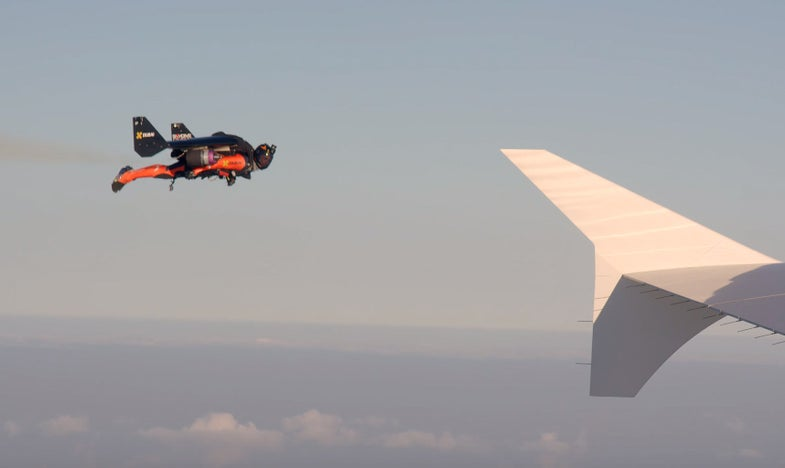 Watch Dudes In Jetpacks Play With An Airliner Over Dubai