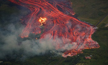 Lava is creating more Hawai'i. It's also forming corrosive acid mist.