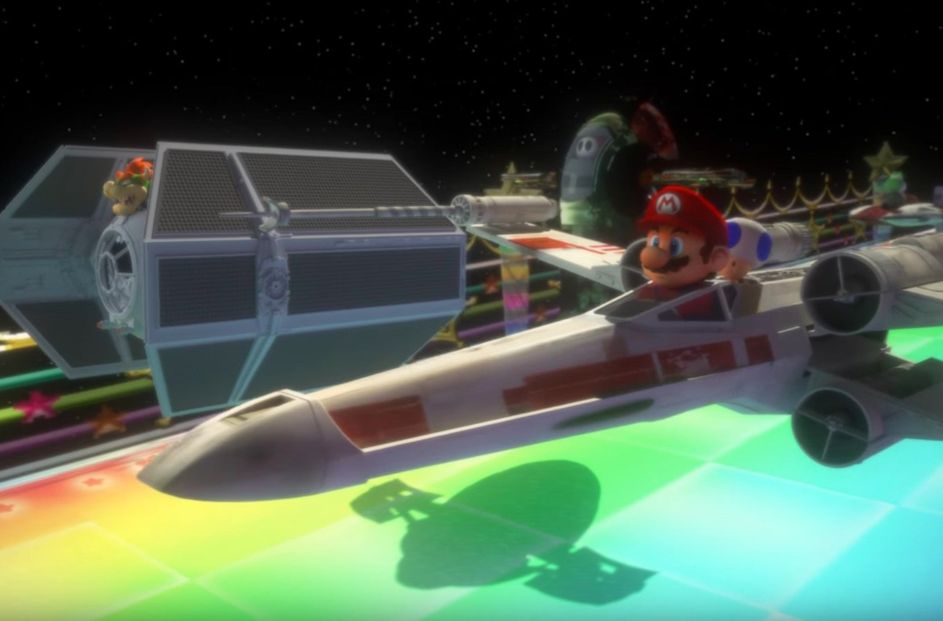 This Mario Kart And Star Wars Trailer Mash-up Is The Game We're All Looking For