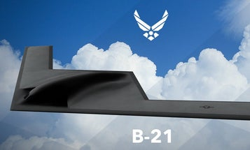 Air Force Shows Off Its Next Bomber