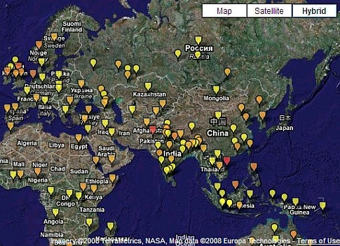 Mapping Disease Data, Collaboratively