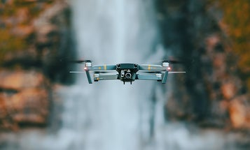 Don't try and fly your drone in areas affected by hurricanes