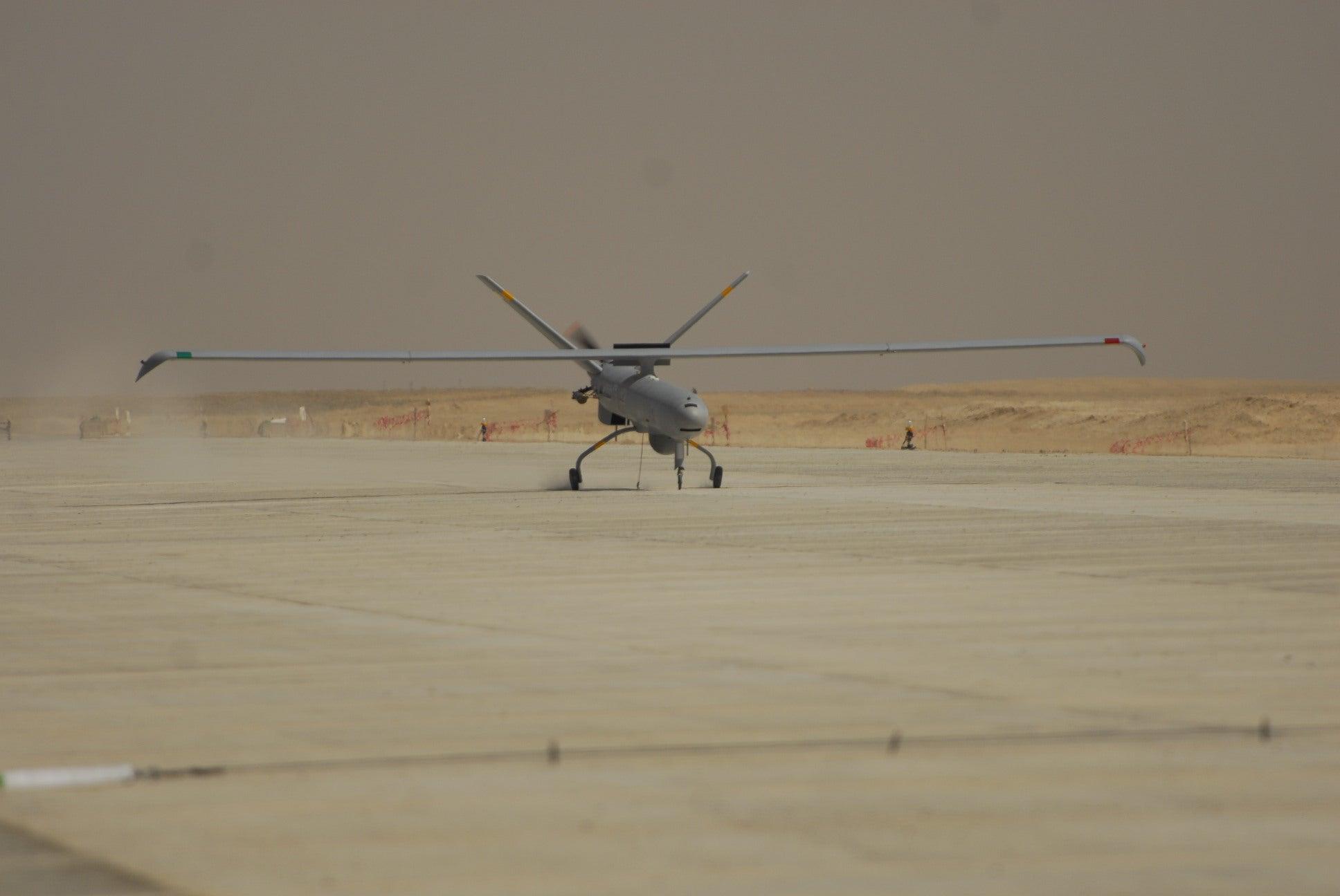 Modified Israeli Drone Seen Flying Over Gaza