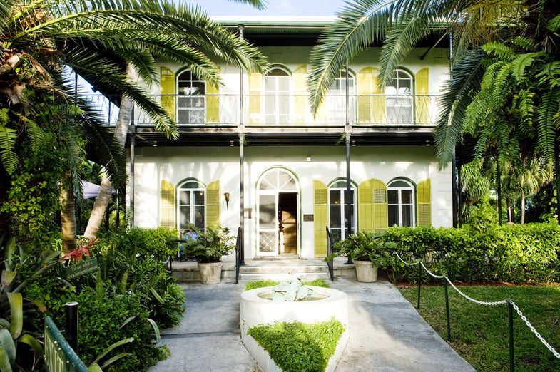 Ernest Hemingway's Florida home is ready to withstand its 168th hurricane season
