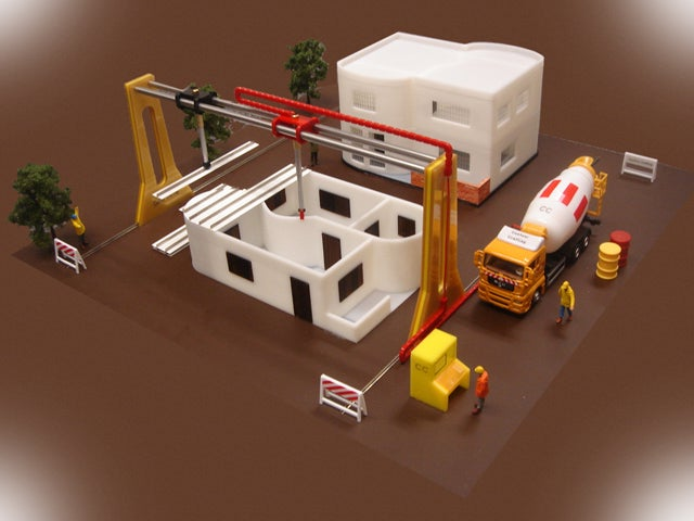 Giant 3-D Printer to Make An Entire House in 20 Hours