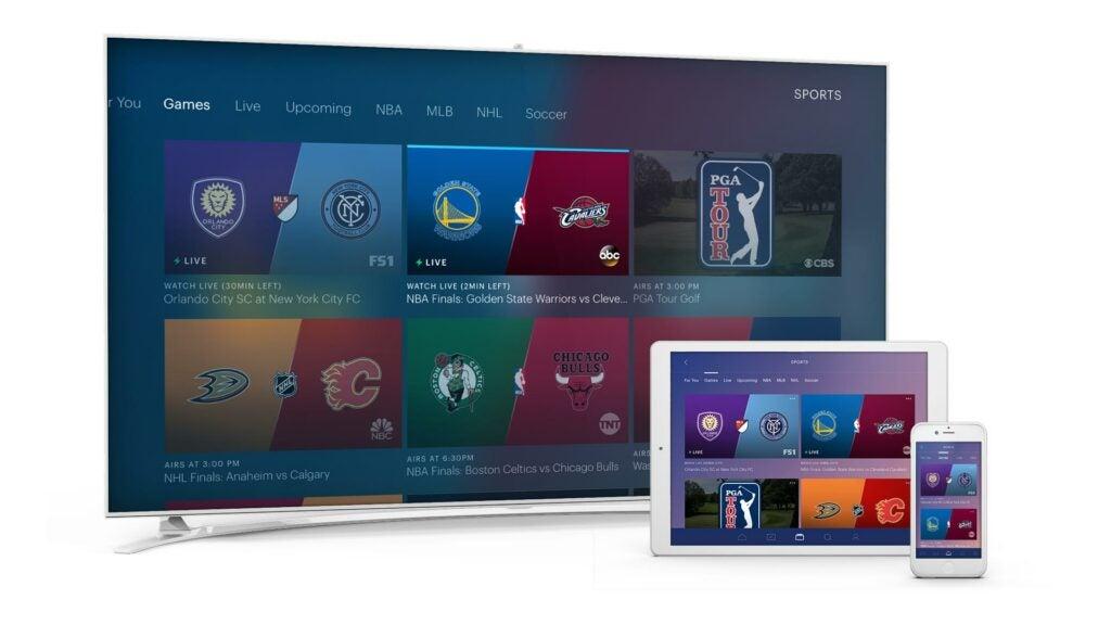 Hulu Live TV sports