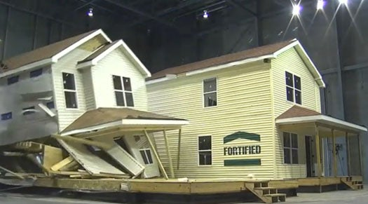 Video: The Insurance Industry's New Disaster Lab Destroys A House