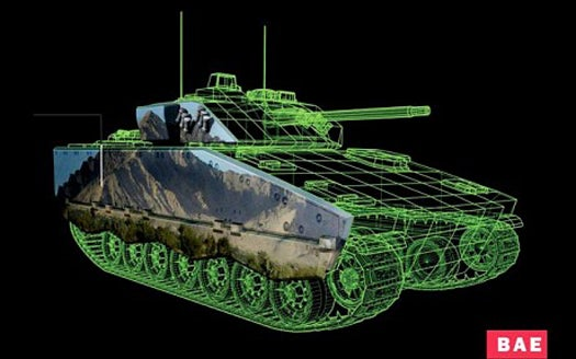Active Camouflage System Uses E-Ink to Make Tanks Invisible on the Battlefield