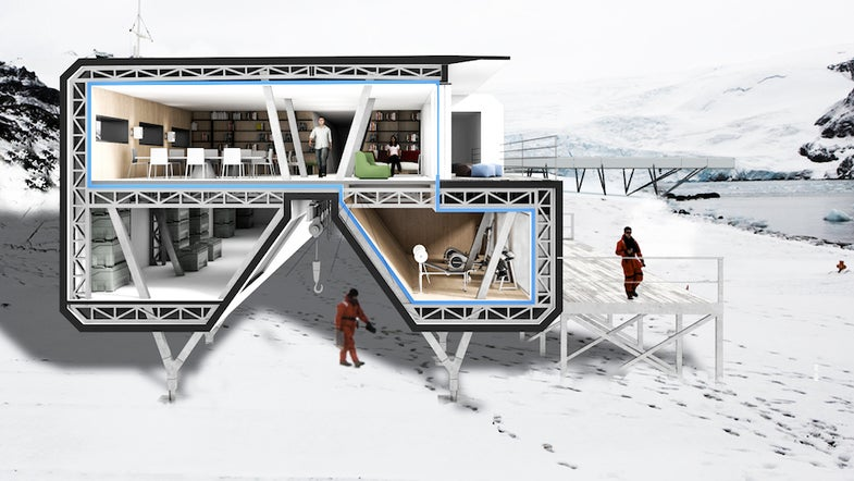 This Antarctic Research Base Actually Looks Pretty Cozy