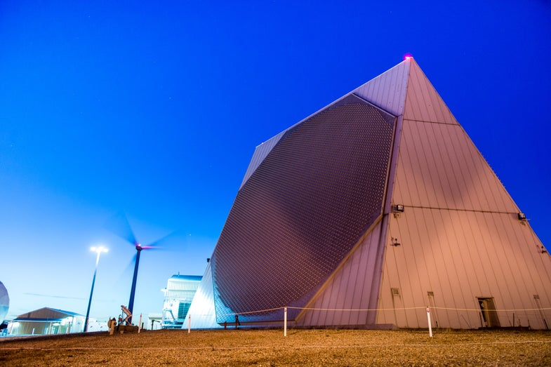 Radars of the Lost Arc