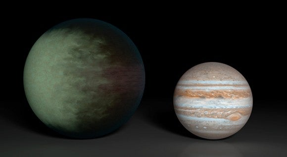 First Cloudy Alien Planet Spotted From Earth