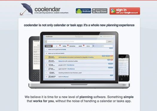Website of the Month: Coolendar.com