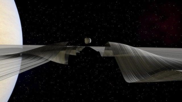 Daphnis waves