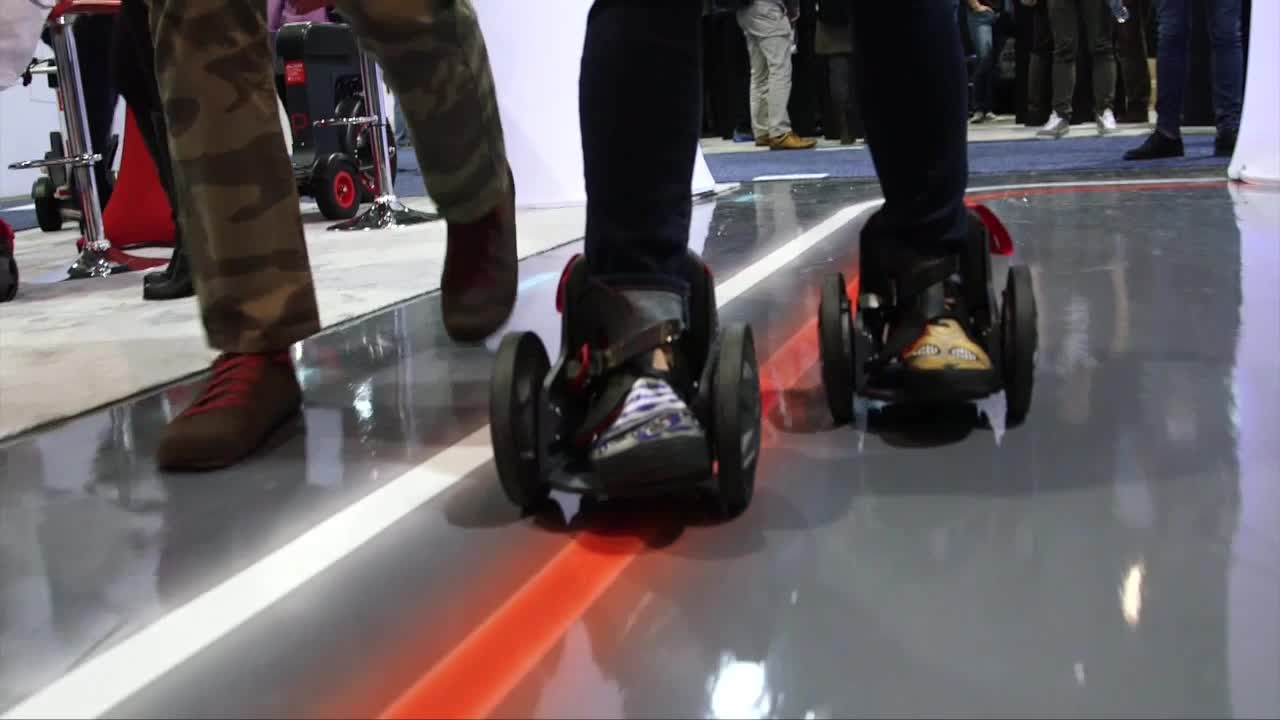 CES 2015: Zoom Past All Your Friends In Acton's Rocket Skates [Video]