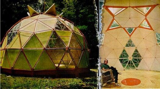 Homemade Dome: November 1972