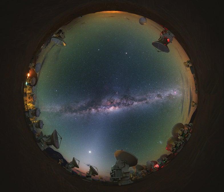 ALMA Probes The Sky
