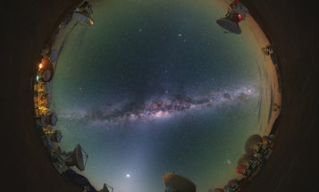 Seeking The Black Hole At The Center Of Our Galaxy