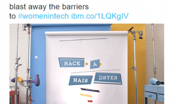 IBM's #HackAHairdryer Campaign is Symbolic of A Larger Sexism Problem in STEM