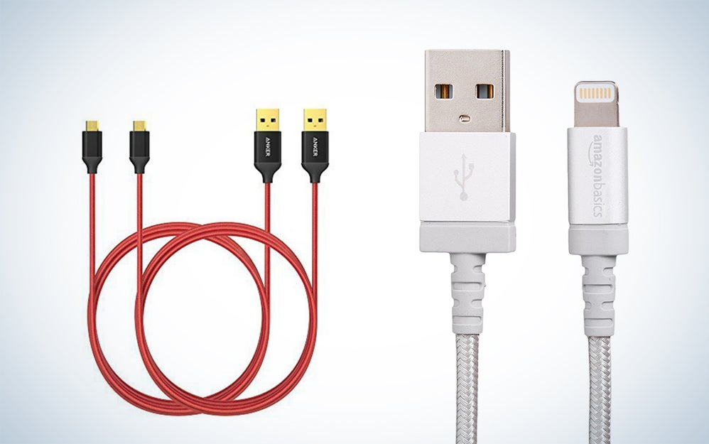 Lightning cable and MicroUSB