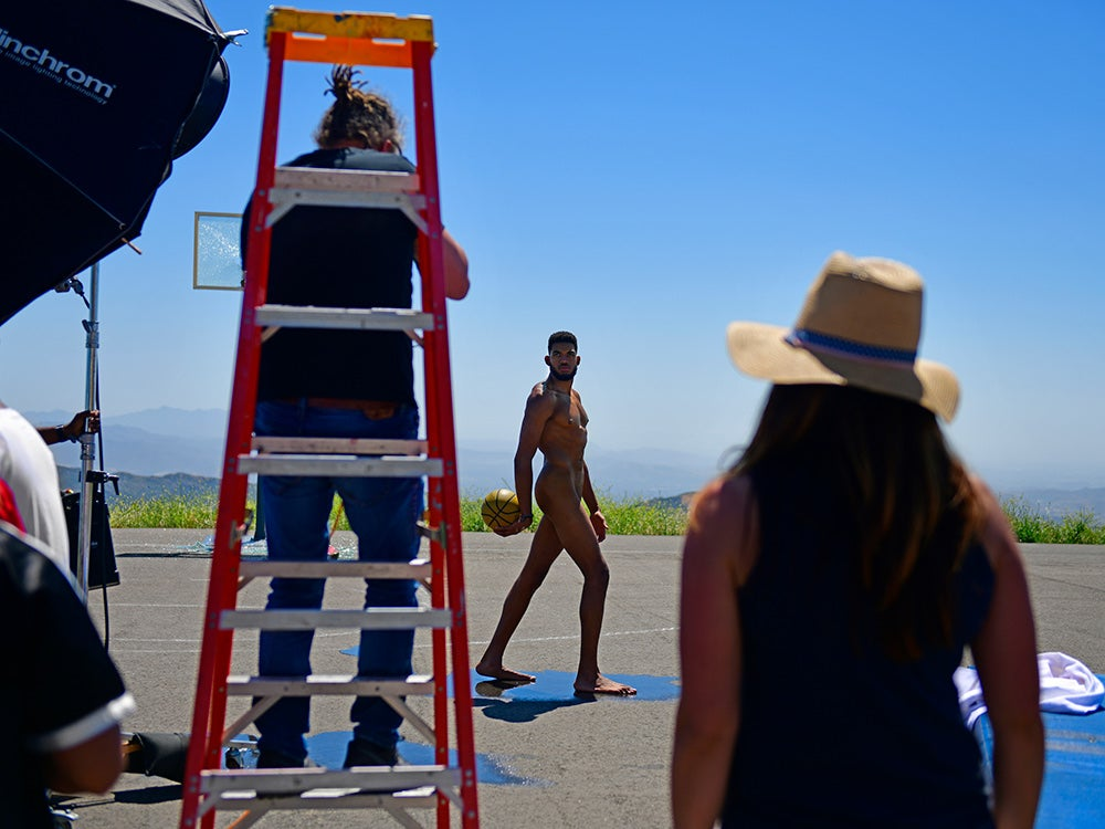 ESPN naked athlete