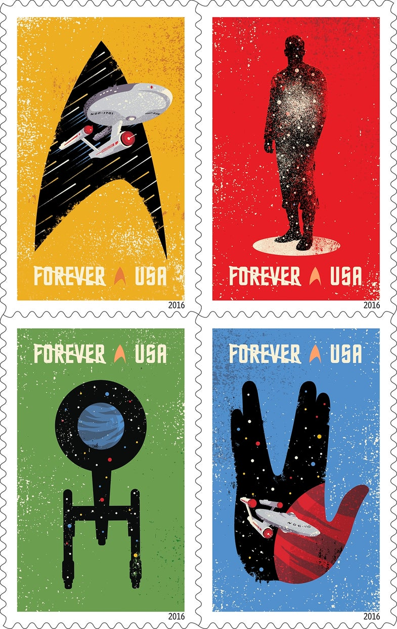 The Post Office Is Getting Spacey With The New 2016 Stamps And We Love It