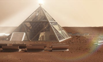 Welcome To Mars. Here's Where You'll Be Staying