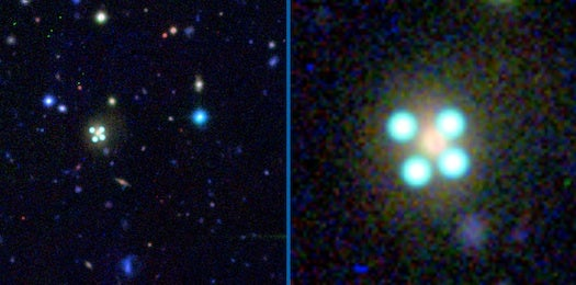 See Gravity Bend Light In New Telescope Images